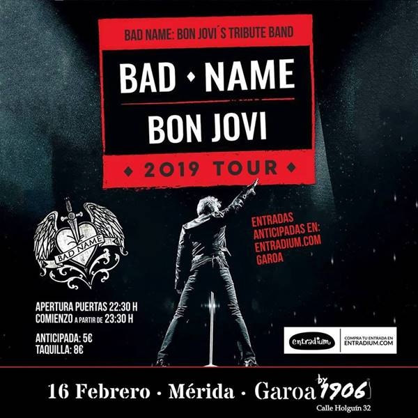 BAD NAME || Tributo a Bon Jovi