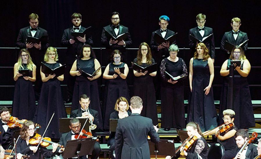 Orquesta y Coro de Cámara de la Universidad del Norte de Alabama