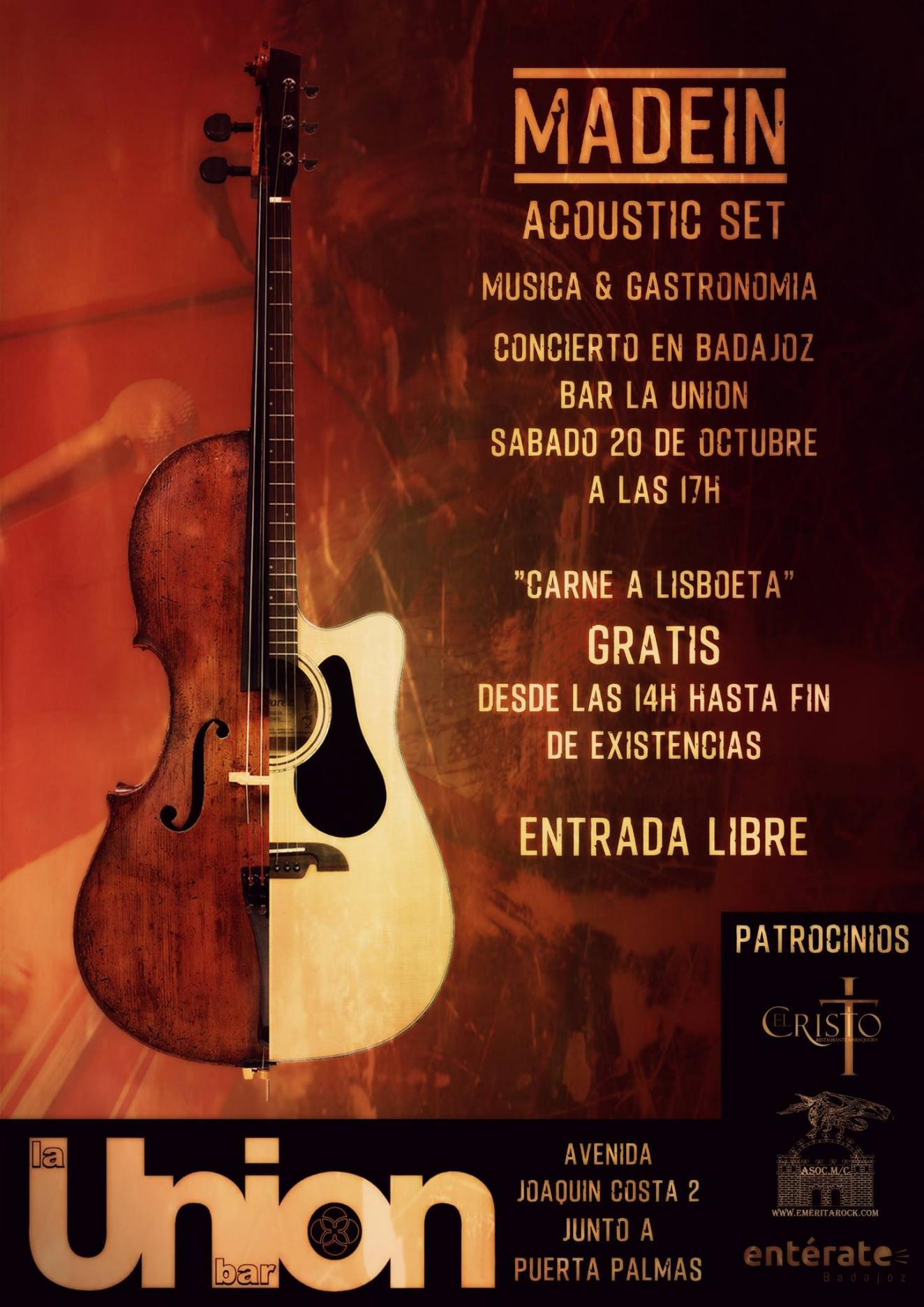 MadeIN Acoustic Set