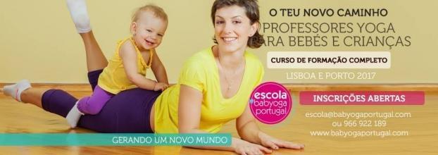 Curso Professores Yoga Bebés e Crianças