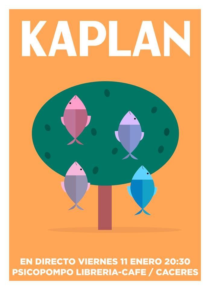 KAPLAN en directo | Psicopompo Librería-café
