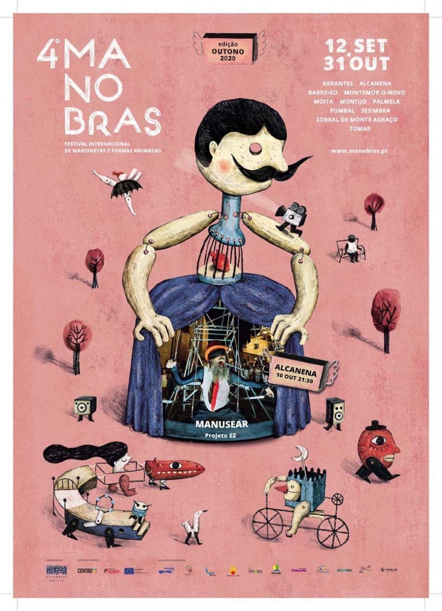 Manusear – EZ (Projeto EZ ) | 4º Festival Internacional de Marionetas e Formas Animadas