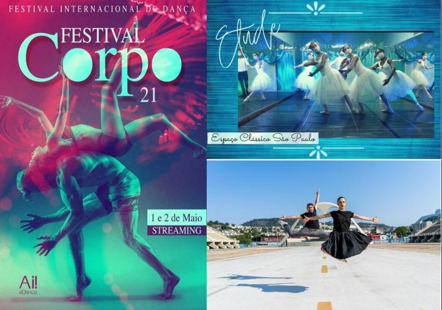 FestivalCorpo.21 confirma participação Internacional de São Paulo e Rio de Janeiro, Brasil