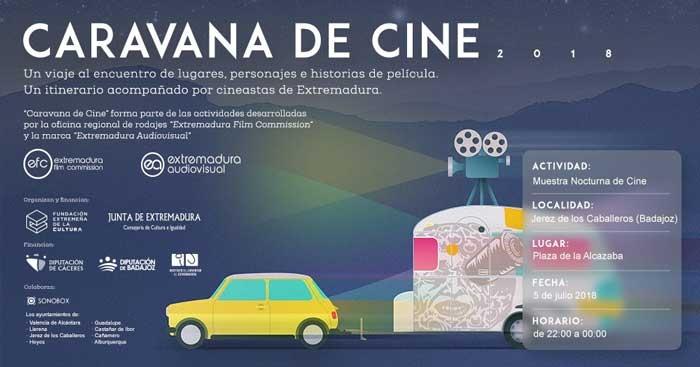 Muestra Nocturna de Cine en Jerez de los Caballeros // CARAVANA DE CINE