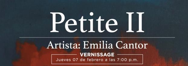 Petite II. Emilia Cantor. Pintura