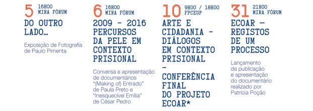 Arte e Cidadania - Diálogos em Contexto Prisional - Conferência Final do Projeto ECOAR
