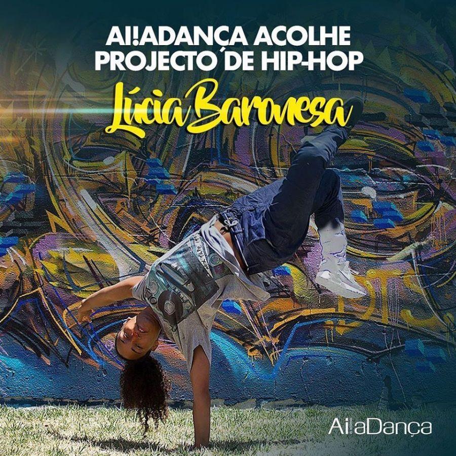 Projeto de Hip Hop Ai!aDança Sintra e Loures assume nova coordenação por Lúcia Baronesa!