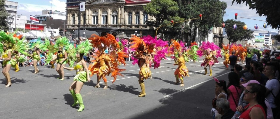Carnaval nacional de San José 2018