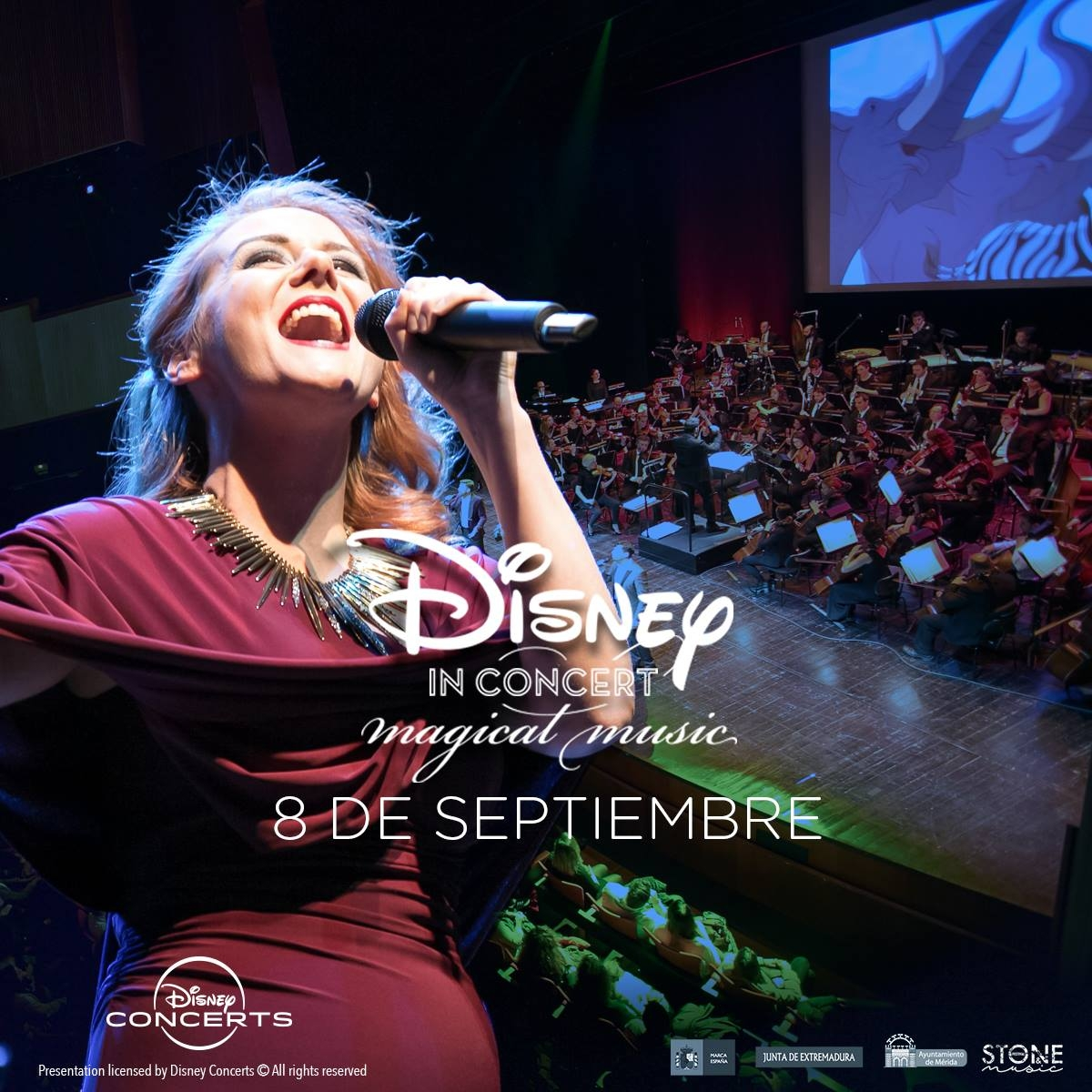 DISNEY IN CONCERT: MAGICAL MUSIC  ||  STONE & MUSIC FESTIVAL | Mérida 2019