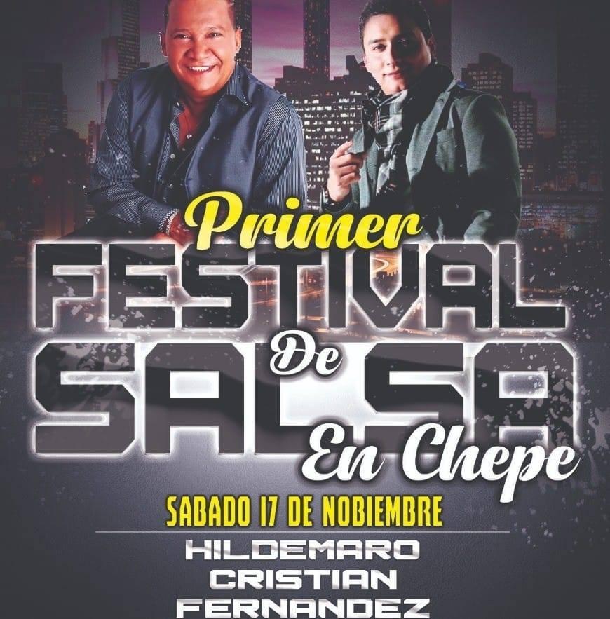 Primer festival internacional salsa en Chepe. Hildemaro, Cristian Fernández & Son Mayor