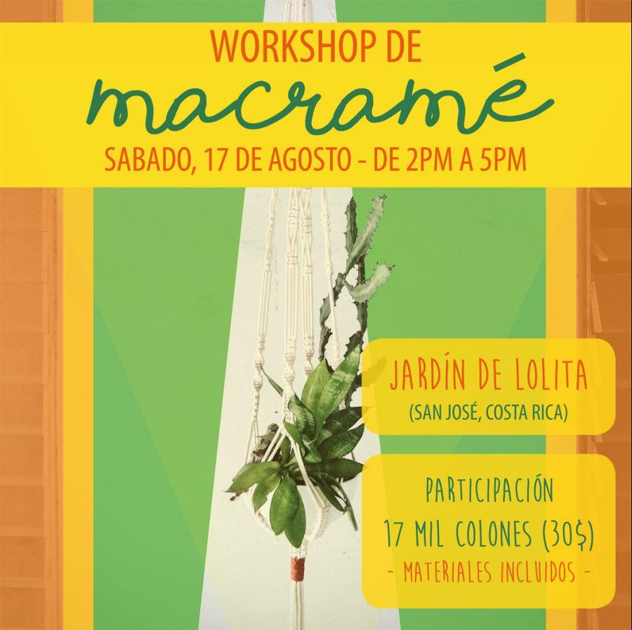 Workshop. Helga Pelvis. Macramé
