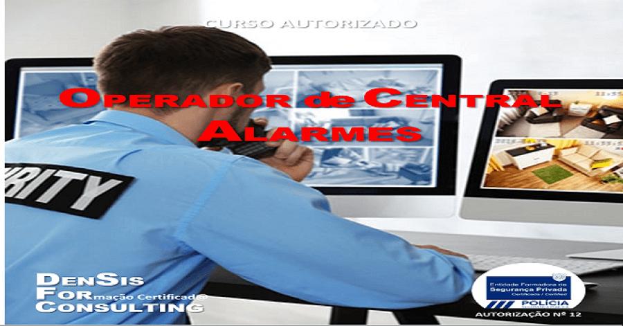 Curso de Operador de Central de Alarmes
