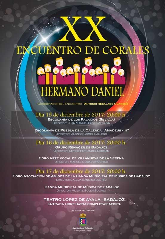 XX Encuentro de Corales Hermano Daniel