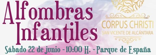 I CERTAMEN DE ALFOMBRAS INFANTILES CORPUS CHRISTI 2019