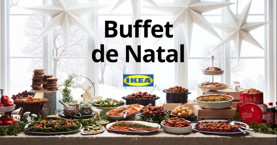 Buffet de Natal IKEA