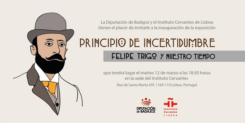 EXPOSICIÓN: Principio de Incertidumbre. Felipe Trigo y nuestro tiempo | Lisboa
