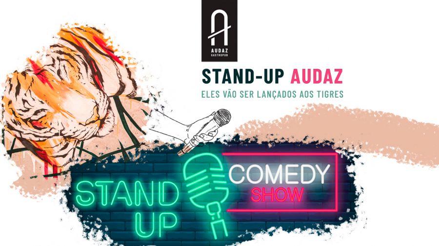 Stand Up Audaz - comédia à mesa