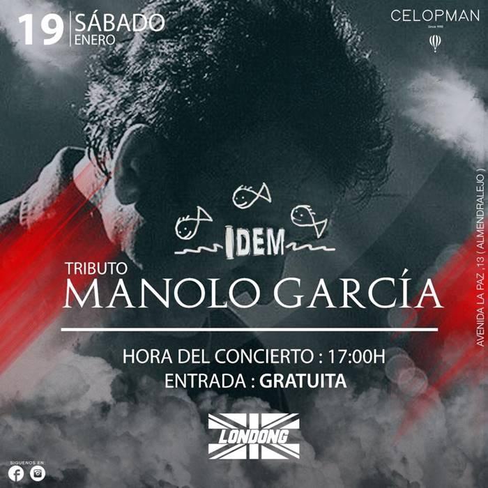 Tributo a Manolo García    Londong (Almendralejo)