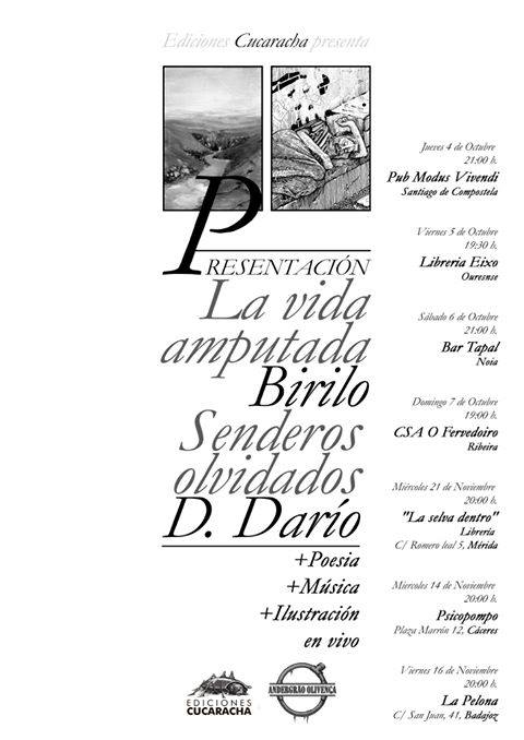 El Colectivo Andergrao Olivença, presenta su sello Editorial