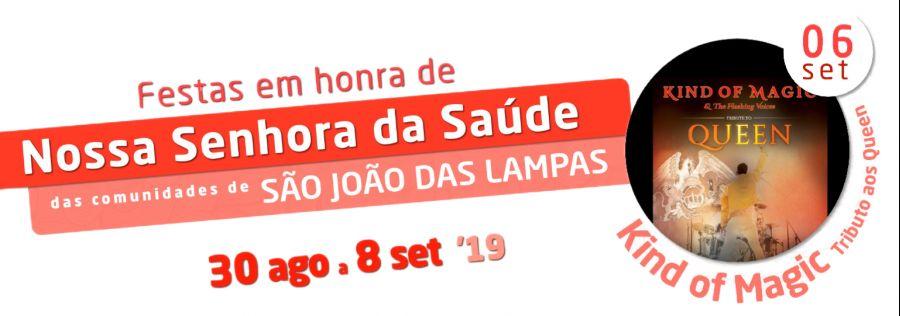 """Tributo aos Queen """"Kind of Magic"""" - Festa de São João das Lampas"""