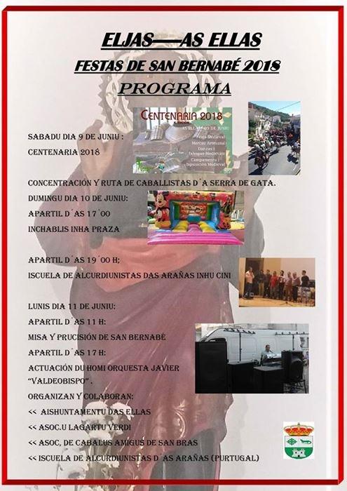 Fiestas de San Bernabé en Eljas