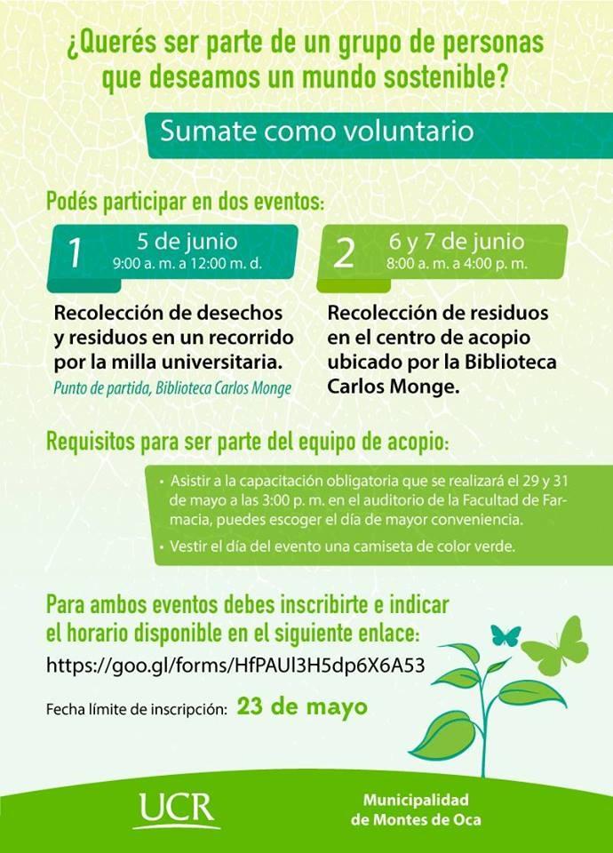 Tercera Edición UCR Verde