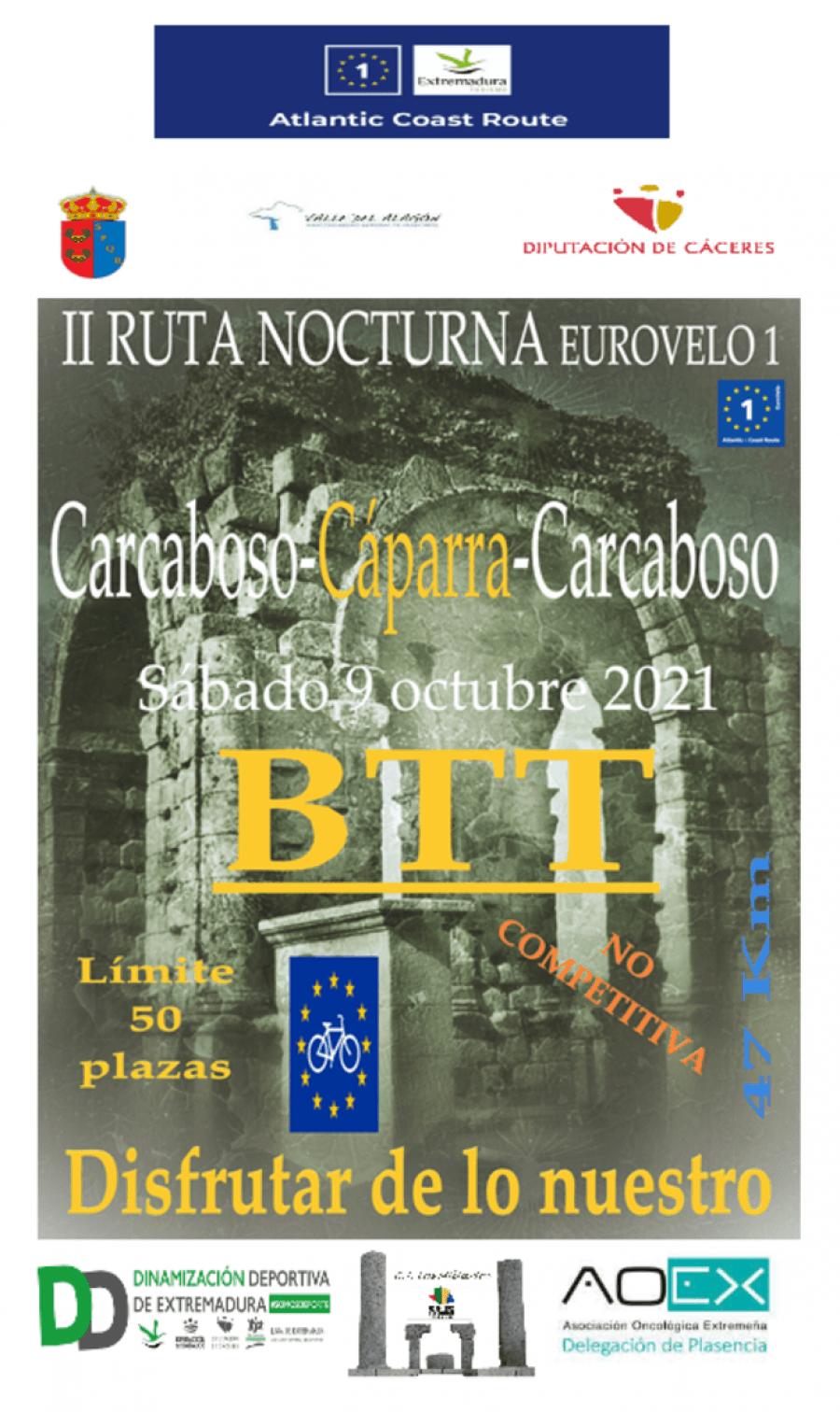 II RUTA NOCTURNA BTT EUROVELO 1