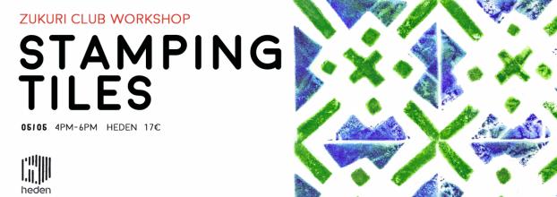 Stamping Lisbon Tiles with the Zukuri Club