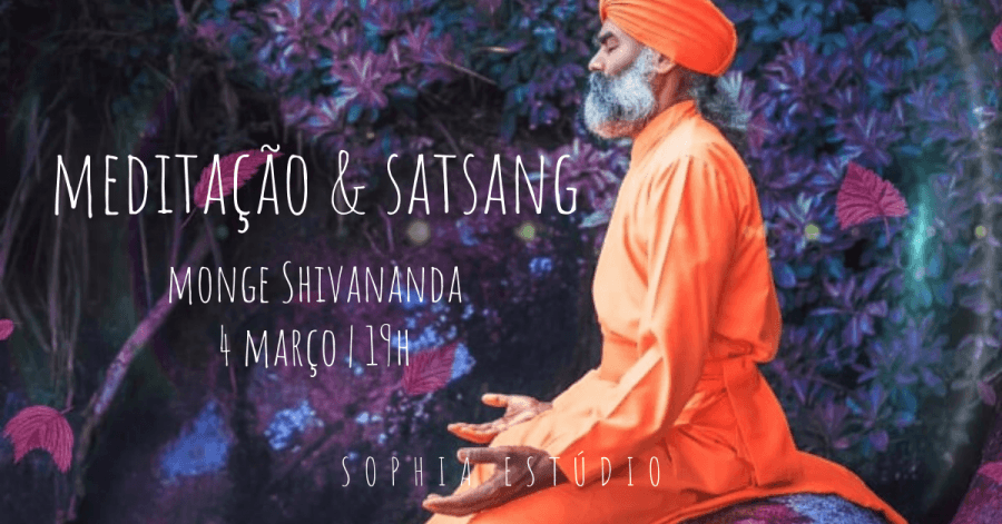Meditação & Satsang com Monge Shivananda