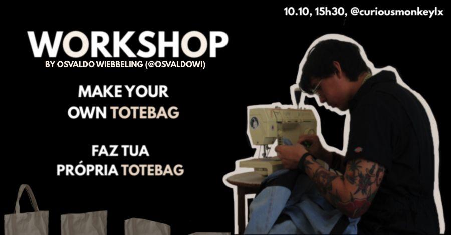 Craft Your Own Totebag | Faz A Tua Própria Totebag