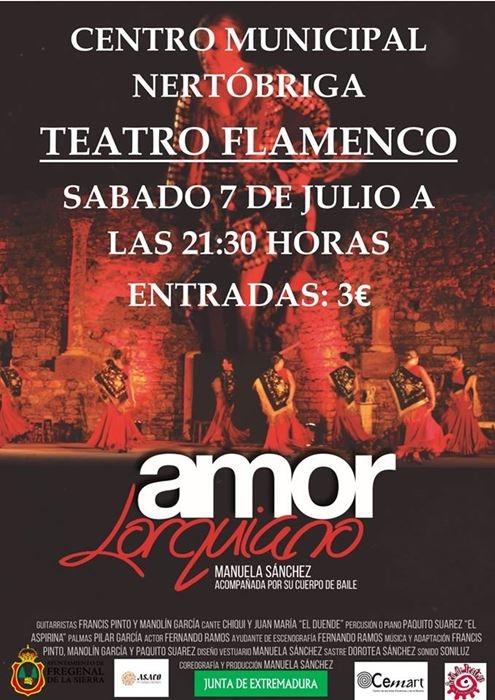 Teatro flamenco 'Amor lorquiano'