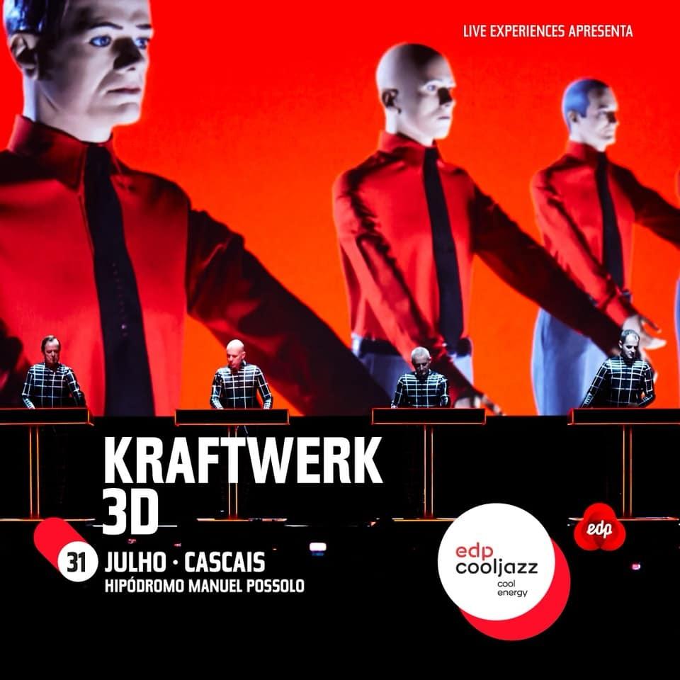 Kraftwerk 3D - EDPCOOLJAZZ 2019