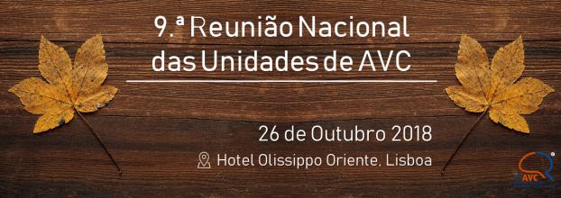 9.ª Reunião Nacional das Unidades de AVC