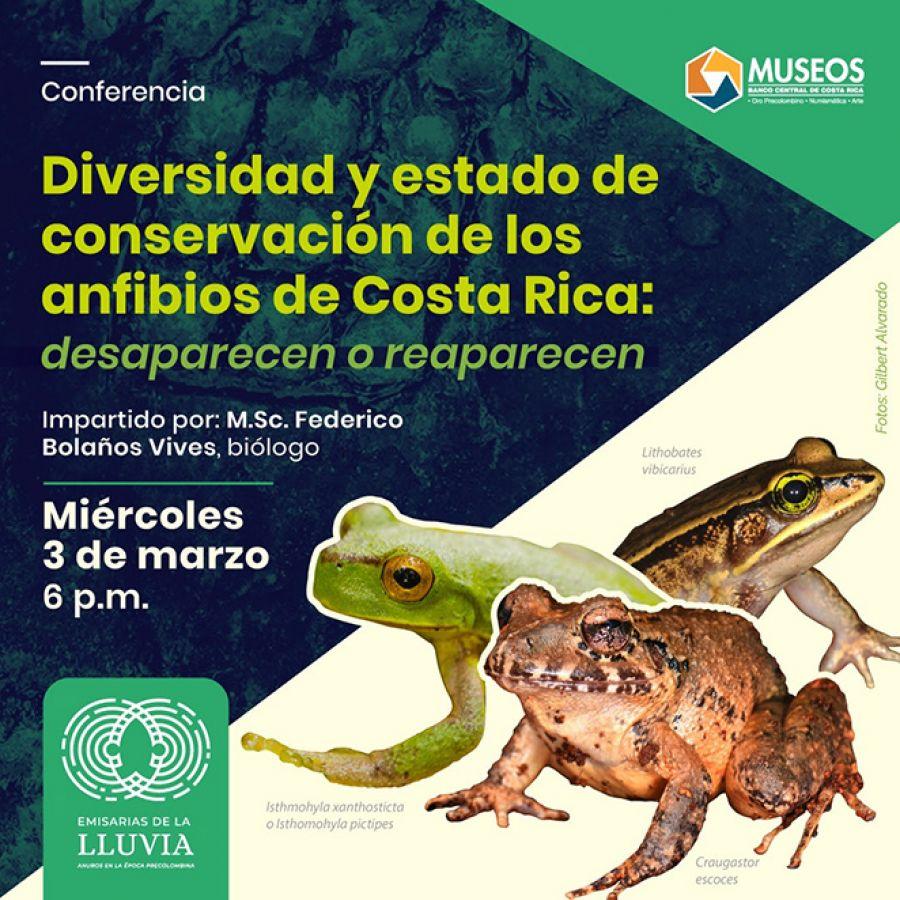 Diversidad y estado de conservación de los anfibios de Costa Rica: Desaparecen o reaparecen