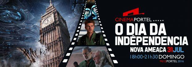 Cinema 'O Dia da Independencia - Nova Ameaça'