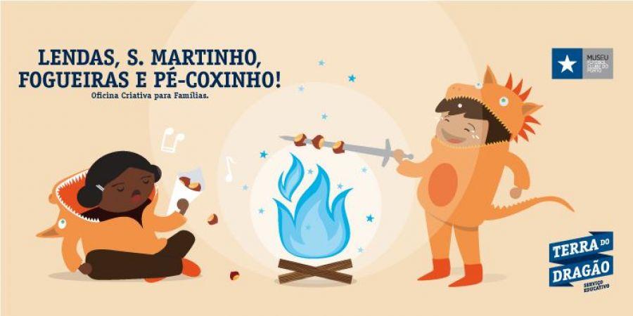 Lendas, São Martinho, Fogueiras e Pé-Coxinho