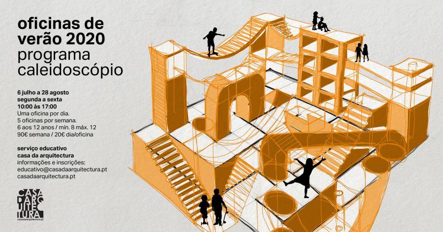 Cinco oficinas de verão na Casa da Arquitectura
