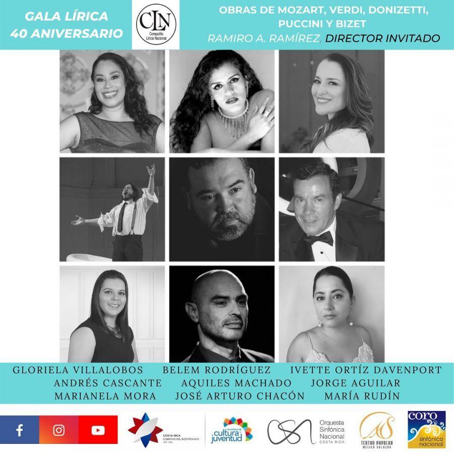 Gala Lírica. 40 Aniversario de Compañía Lírica Nacional