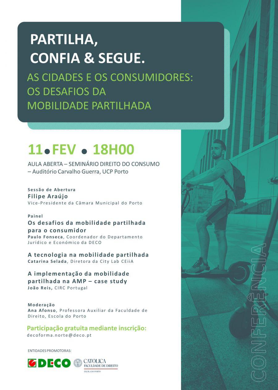 As cidades e os consumidores: os desafios da Mobilidade Partilhada