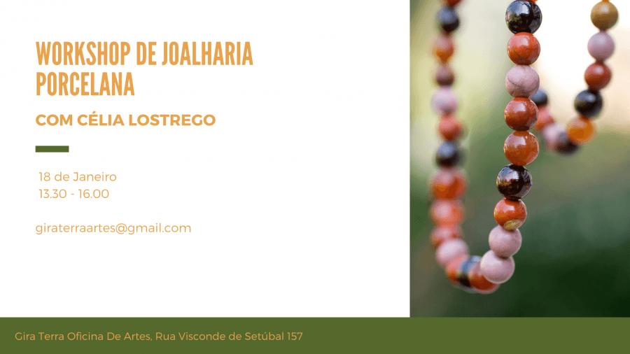 Workshop Joalharia em Porcelena