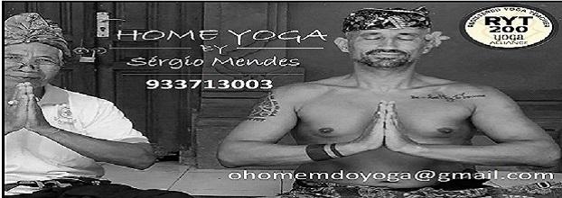Aulas ao Domicilio - Home Yoga