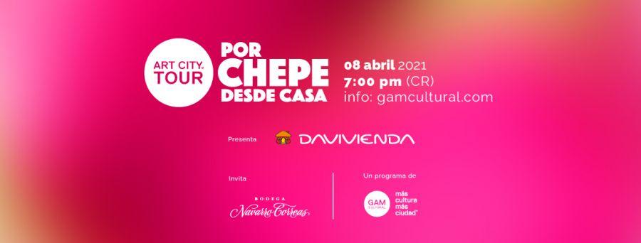 SEGUNDO Art City Tour VIRTUAL del 2021: Por Chepe desde casa