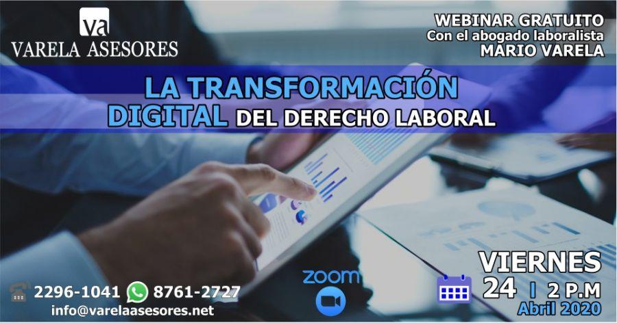 La transformación digital del Derecho Laboral