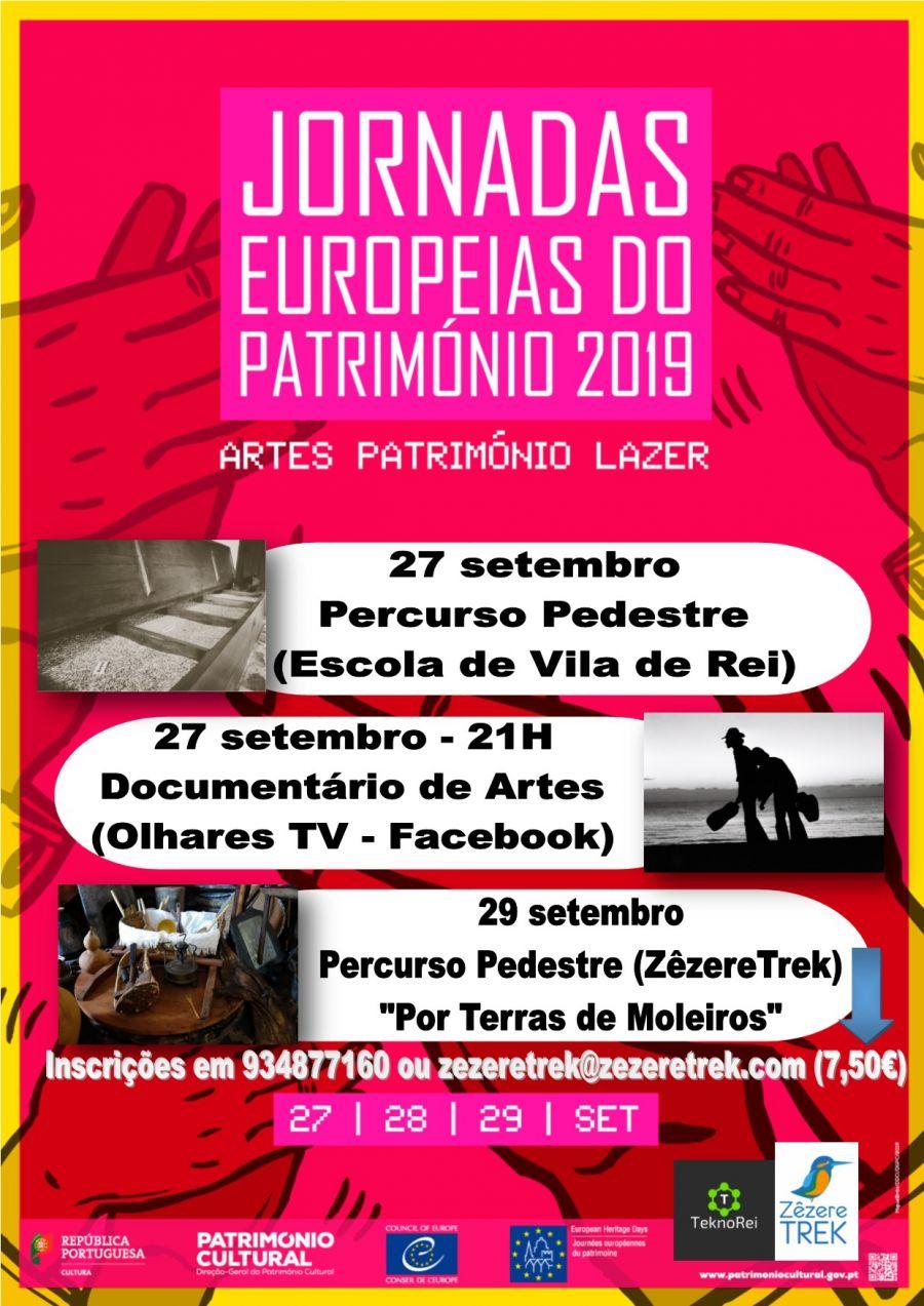 Jornadas Europeias do Património - Arte e 'Por Terras de Moleiros'