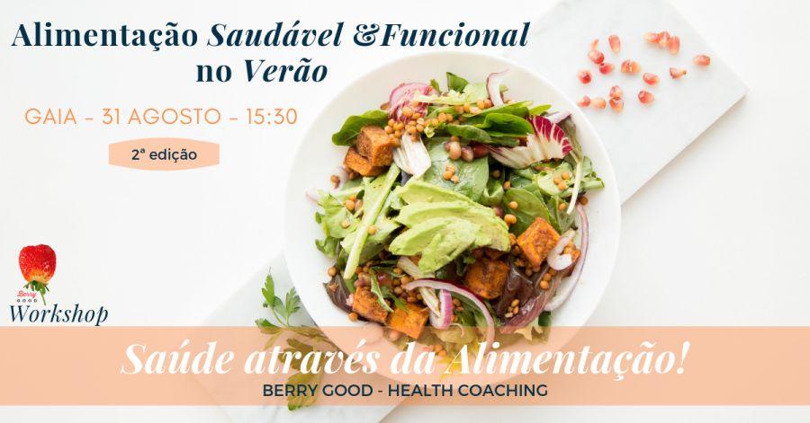 Workshop: Alimentação Saudável e Funcional no Verão