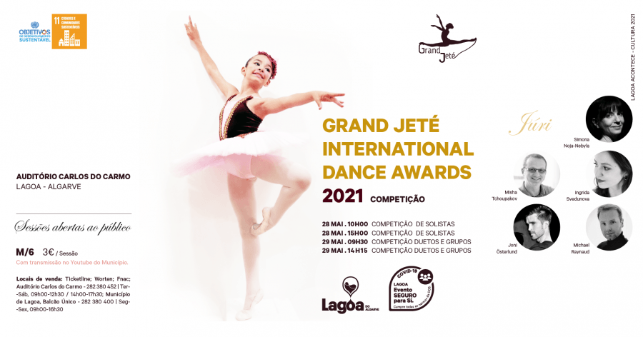 Grand Jeté International Dance Awards   Competição