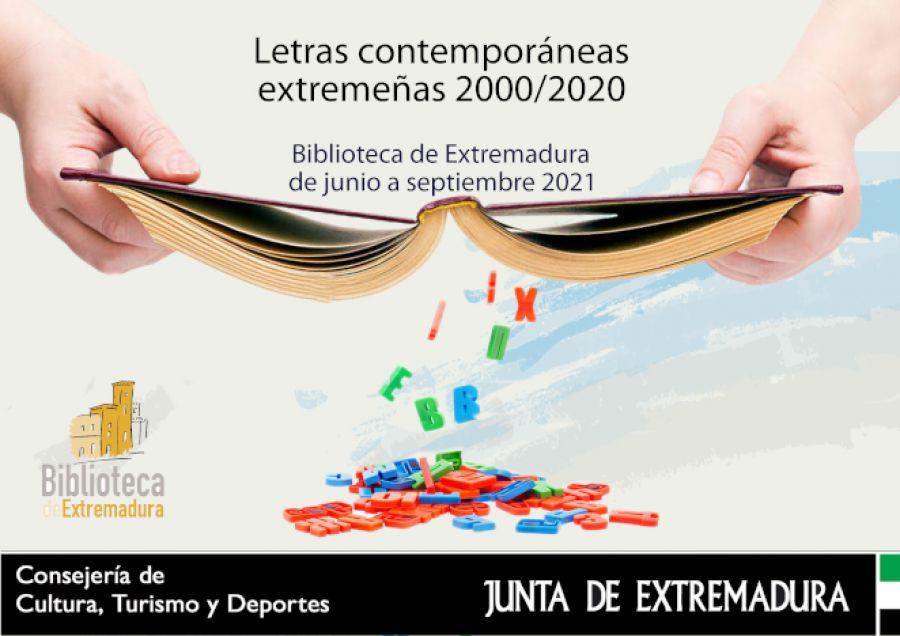 Exposición 'Letras contemporáneas extremeñas'