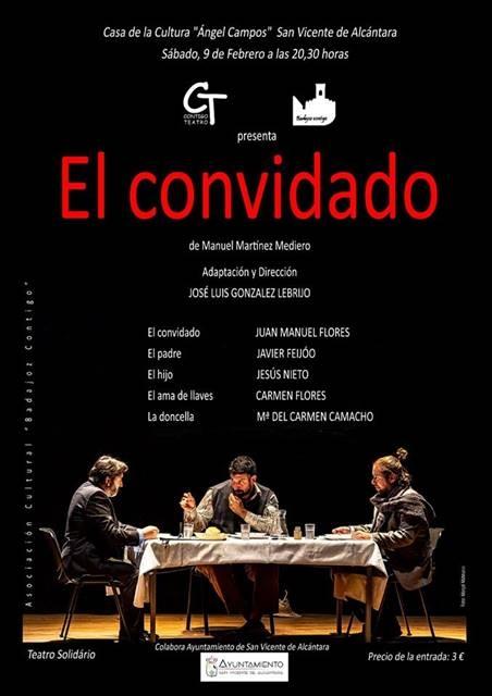 Teatro «El convidado», de Manuel Martínez Medellero || Casa de la Cultura Ángel Campos