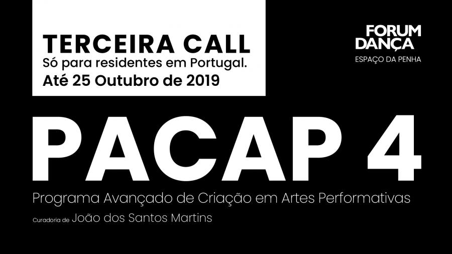 Terceira Call PACAP 4 \\ João dos Santos Martins