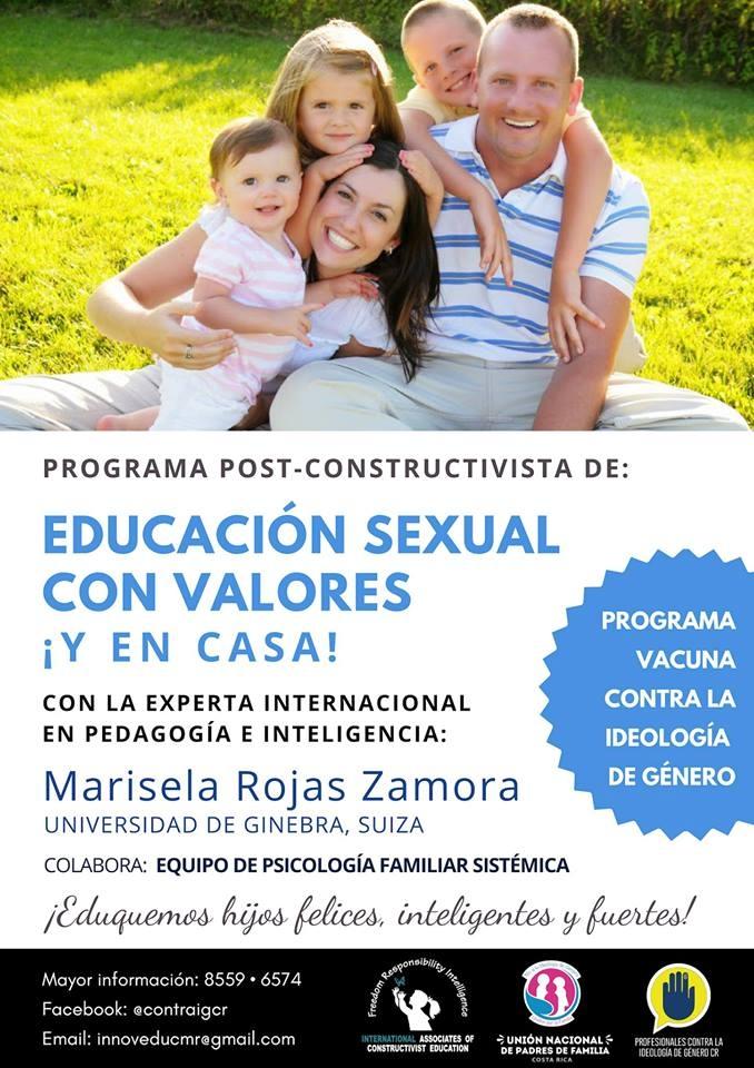 Seminario de educación sexual con valores. Marisela Rojas Zamora. Pedagogía